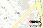Схема проезда до компании Ванные Комнаты в Белгороде