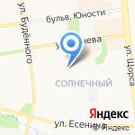 Книжный уголок на карте Белгорода