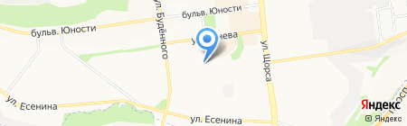 Мила на карте Белгорода