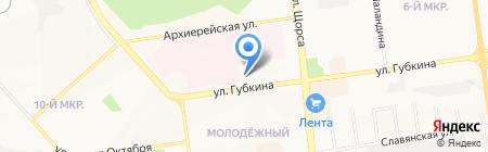 Белгородское городское БТИ на карте Белгорода