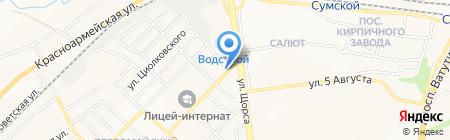 Ванные комнаты на карте Белгорода