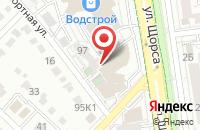 Схема проезда до компании Двери VIP в Белгороде
