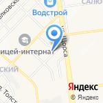 Рамира на карте Белгорода