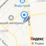 100 Квадратов на карте Белгорода