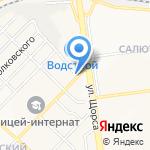 Салон сантехники и ванных комнат на карте Белгорода