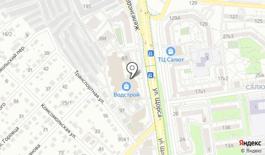 МЕБЕЛЬНЫЙ КОНТИНЕНТ. Схема проезда в Белгороде