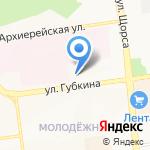 Ярославна на карте Белгорода