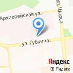 Ярославна-Дом на карте Белгорода