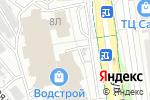 Схема проезда до компании Шиворот навыворот в Белгороде