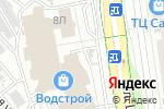 Схема проезда до компании Планета Одежда Обувь в Белгороде