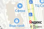 Схема проезда до компании ПроЗрение в Белгороде