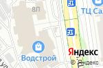 Схема проезда до компании Мебельный рай в Белгороде