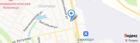 Церковь Христиан Адвентистов седьмого дня на карте Белгорода