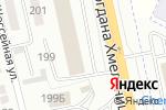 Схема проезда до компании Моравия Моторс в Белгороде