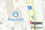Схема проезда до компании Hair Pro, магазин косметики для волос в Белгороде