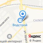 Мебельный салон на карте Белгорода