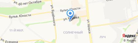 Весна на карте Белгорода