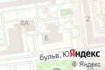 Схема проезда до компании Доктор Окон в Белгороде