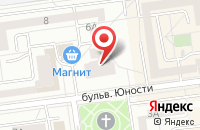Схема проезда до компании ДЕКОР ЦЕНТР в Белгороде