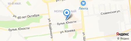 ДЕКОР ЦЕНТР на карте Белгорода