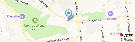 Ивушка на карте Белгорода