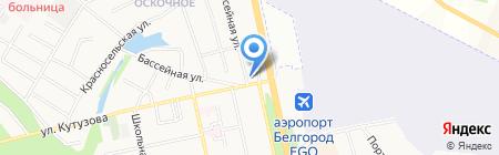 Галина на карте Белгорода