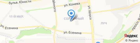 Ладушки на карте Белгорода