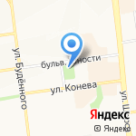 Храм Почаевской иконы Божьей Матери на карте Белгорода