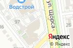 Схема проезда до компании Любимчик в Белгороде