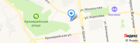 Еврострой на карте Белгорода