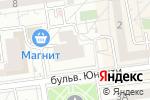 Схема проезда до компании Окнабел в Белгороде