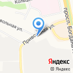 Шиномонтажная мастерская на карте Белгорода