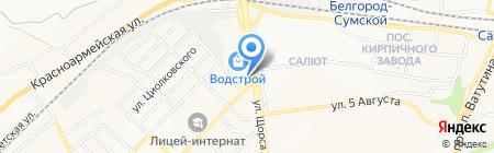 Компания Дизайн.ОК на карте Белгорода