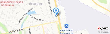 Четыре глаза на карте Белгорода
