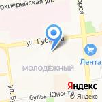 Центр развития ребенка-детский сад №75 на карте Белгорода