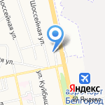 Фрегат на карте Белгорода