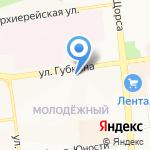 Натэль на карте Белгорода
