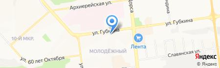 Семицветик на карте Белгорода