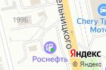 Схема проезда до компании Банкомат, Всероссийский банк развития регионов в Белгороде