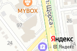 Схема проезда до компании Интерио в Белгороде