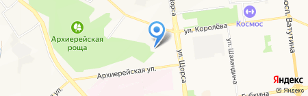Догода на карте Белгорода