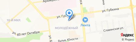 Детский сад №75 на карте Белгорода