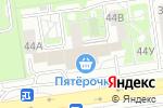Схема проезда до компании Биомед в Белгороде