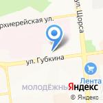 Биомед на карте Белгорода