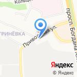 РК 31 на карте Белгорода