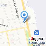 Ресторан-сервис на карте Белгорода