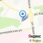 Легион на карте Белгорода