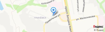 Участковый пункт полиции №16 на карте Белгорода