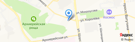 Постирушки у Илюшки на карте Белгорода