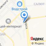 Лайм на карте Белгорода